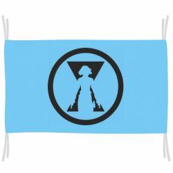Прапор Black Widow logo
