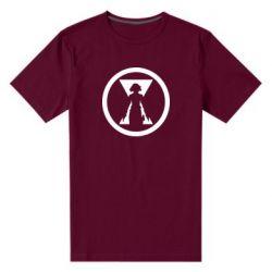Чоловіча стрейчева футболка Black Widow logo