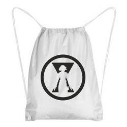 Рюкзак-мішок Black Widow logo
