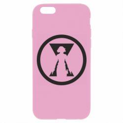 Чохол для iPhone 6 Plus/6S Plus Black Widow logo