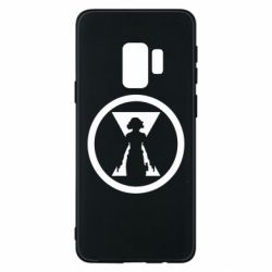Чохол для Samsung S9 Black Widow logo