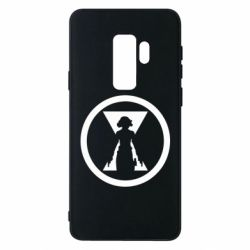 Чохол для Samsung S9+ Black Widow logo