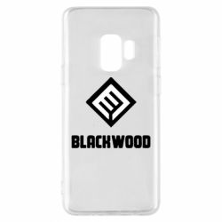 Чехол для Samsung S9 Blackwood Warface - FatLine