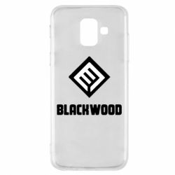 Чехол для Samsung A6 2018 Blackwood Warface - FatLine
