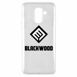 Чехол для Samsung A6+ 2018 Blackwood Warface - FatLine