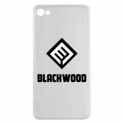 Чехол для Meizu U20 Blackwood Warface - FatLine