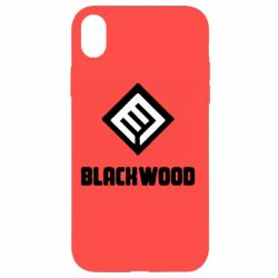 Чехол для iPhone XR Blackwood Warface - FatLine