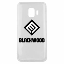 Чехол для Samsung J2 Core Blackwood Warface - FatLine