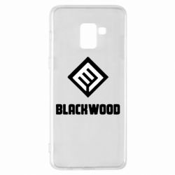Чехол для Samsung A8+ 2018 Blackwood Warface - FatLine