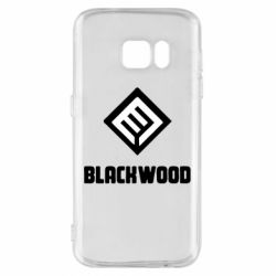 Чехол для Samsung S7 Blackwood Warface - FatLine