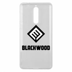 Чехол для Nokia 8 Blackwood Warface - FatLine