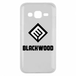 Чехол для Samsung J2 2015 Blackwood Warface - FatLine