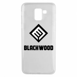 Чехол для Samsung J6 Blackwood Warface - FatLine