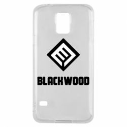 Чехол для Samsung S5 Blackwood Warface - FatLine