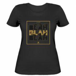 Жіноча футболка Blah Blah Blah