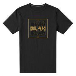 Чоловіча стрейчева футболка Blah Blah Blah