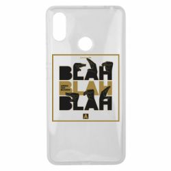 Чехол для Xiaomi Mi Max 3 Blah Blah Blah