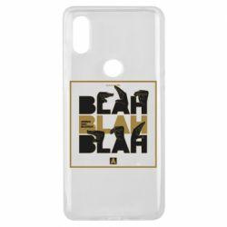 Чехол для Xiaomi Mi Mix 3 Blah Blah Blah