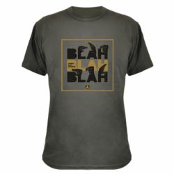 Камуфляжна футболка Blah Blah Blah