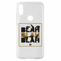Чехол для Xiaomi Mi Play Blah Blah Blah