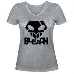 Купить Saharok, Женская футболка с V-образным вырезом Bleach, FatLine