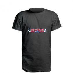 Saharok, Удлиненная футболка Bleach, FatLine  - купить со скидкой