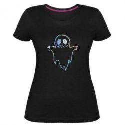 Жіноча стрейчева футболка Блискуче приведення