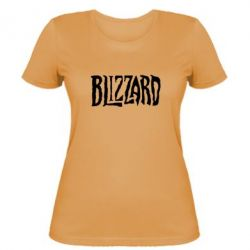 Женская футболка Blizzard Logo - FatLine