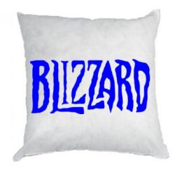 Подушка Blizzard Logo - FatLine