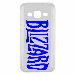 Чохол для Samsung J2 2015 Blizzard Logo