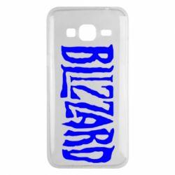 Чохол для Samsung J3 2016 Blizzard Logo