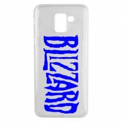 Чохол для Samsung J6 Blizzard Logo
