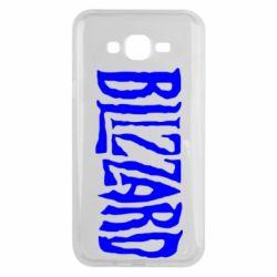 Чохол для Samsung J7 2015 Blizzard Logo