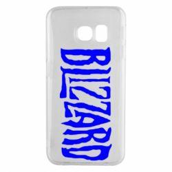 Чохол для Samsung S6 EDGE Blizzard Logo