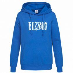Женская толстовка Blizzard Logo - FatLine