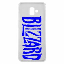 Чохол для Samsung J6 Plus 2018 Blizzard Logo
