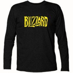 Футболка с длинным рукавом Blizzard Logo - FatLine