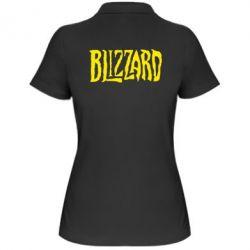 Женская футболка поло Blizzard Logo - FatLine