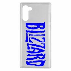 Чохол для Samsung Note 10 Blizzard Logo