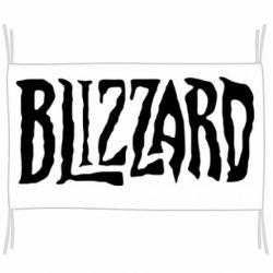 Прапор Blizzard Logo