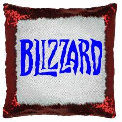 Подушка-хамелеон Blizzard Logo
