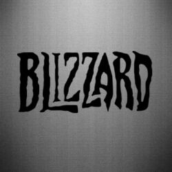Наклейка Blizzard Logo - FatLine
