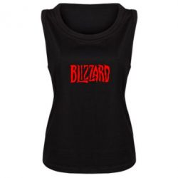 Женская майка Blizzard Logo - FatLine