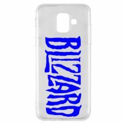 Чохол для Samsung A6 2018 Blizzard Logo