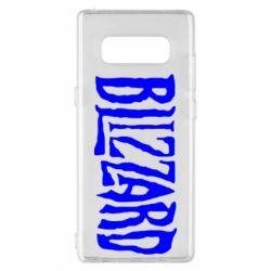 Чохол для Samsung Note 8 Blizzard Logo