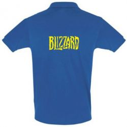 Футболка Поло Blizzard Logo - FatLine