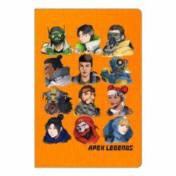 Блокнот А5 Apex legends heroes
