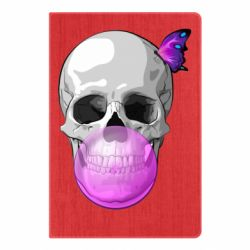 Блокнот А5 Butterfly on the skull