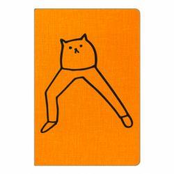Блокнот А5 Cat in pants
