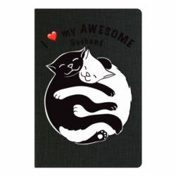 Блокнот А5 Cats and love